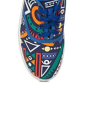 SUGR Printed Oxford Sneakers