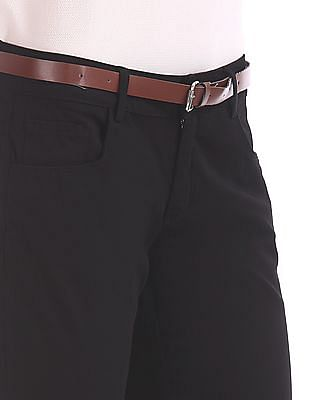 Cherokee Belted Twill Trousers