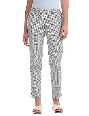 U.S. Polo Assn. Women Skinny Fit Printed Pants