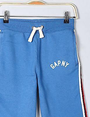 GAP Boys Blue Pull-On Logo Shorts