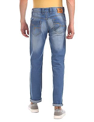 Flying Machine Prince Slim Fit Stone Wash Jeans