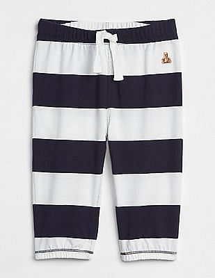 GAP Baby Blue Stripe Pull-On Pants