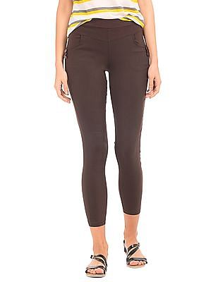 SUGR Solid Stretch Tapered Pants