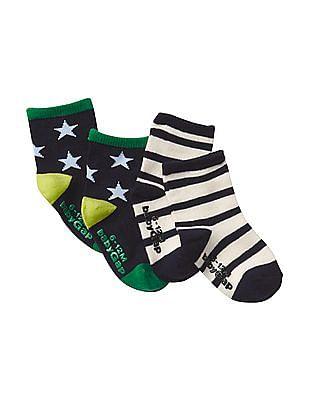 GAP Baby Assorted Stripe Socks - Pack Of 2