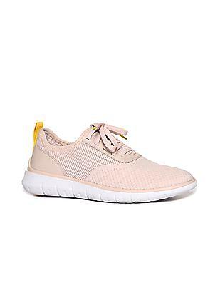Cole Haan Women Pink Generation ZeroGrand Stitchlite Sneakers