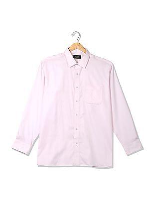Arrow Stitch-Less Patterned Check Shirt