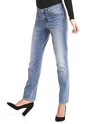 GAP Stud-Pocket Straight Jeans