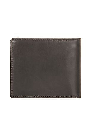 U.S. Polo Assn. Distressed Leather Bi-Fold Wallet