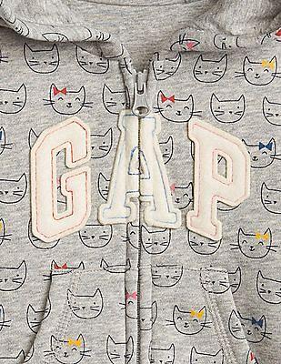 GAP Baby Logo Print Hoodie Sweatshirt