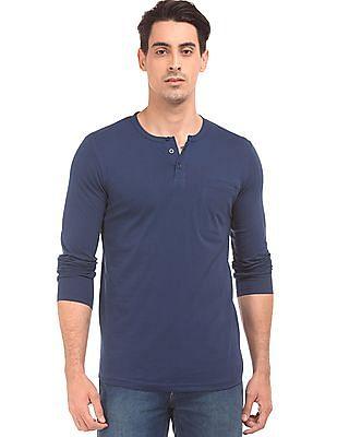 Colt Long Sleeve Henley T-Shirt