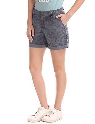 GAP Print Girlfriend Shorts