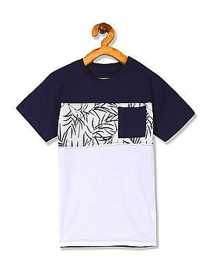 Cherokee Boys Printed Short Sleeve T-Shirt