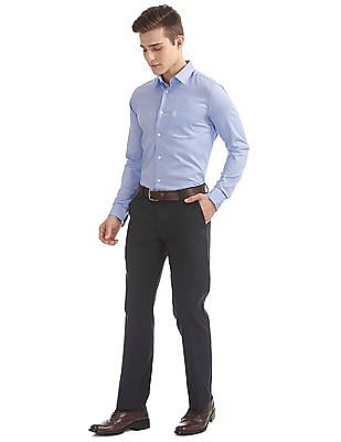 USPA Tailored French Placket Regular Fit Shirt