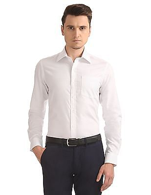 Arrow Striped Slim Fit Shirt
