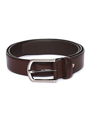 Arrow Solid Leather Belt
