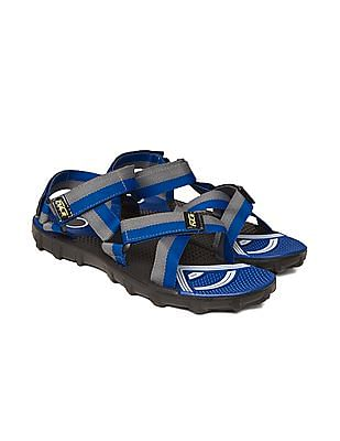 Colt Multi Strap Colour Block Sandals