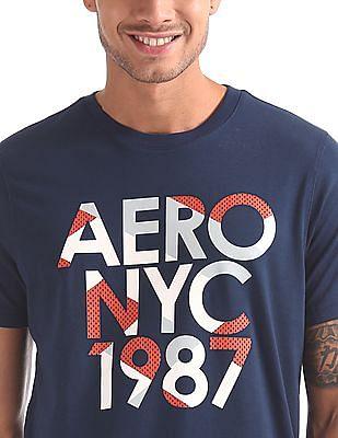 Aeropostale Crew Neck Printed T-Shirt