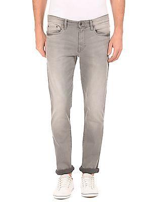 Aeropostale Skinny Fit Stone Wash Jeans