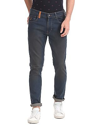 U.S. Polo Assn. Denim Co. Slim Tapered Fit Rinse Wash Jeans