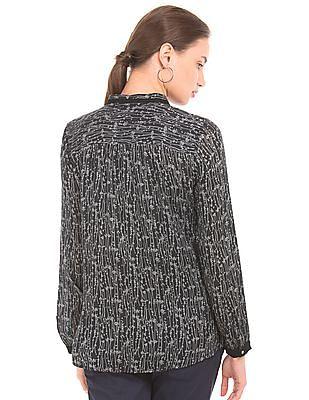 Arrow Woman Printed Regular Fit Shirt