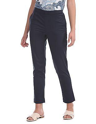 U.S. Polo Assn. Women Skinny Fit Solid Pants
