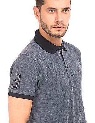 Izod Heathered Pique Polo Shirt