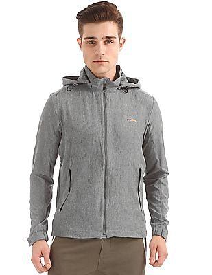USPA Active Hooded Active Jacket