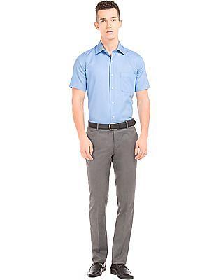 Arrow Patterned Short Sleeve Shirt