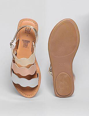 GAP Girls Metallic Sandals