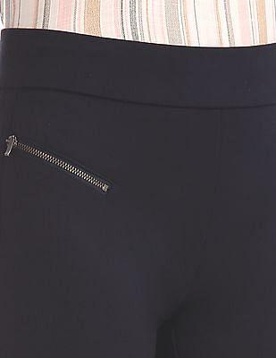 Elle Studio Elasticized Waist Knit Treggings