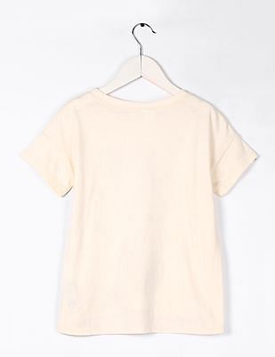 GAP Girls Short Sleeve Sequin Embellished Tee