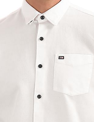 Arrow Sports Regular Fit Patterned Check Shirt