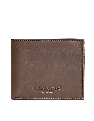 U.S. Polo Assn. Textured Leather Wallet