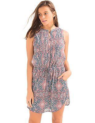 GAP Pintuck Shirt Dress