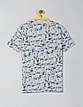 GAP Boys Print V-Neck Short Sleeve T-Shirt