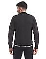 Flying Machine Slim Fit Zip Up Sweater