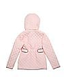 U.S. Polo Assn. Kids Girls Quilted Hooded Jacket