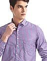 Excalibur Assorted Checked Shirt - Pack Of 2