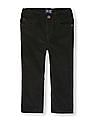 The Children's Place Toddler Boy Black 5-Pocket Skinny Corduroy Trousers