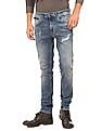 Ed Hardy Stone Wash Distressed Jeans