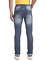 Flying Machine Blue Michael Slim Tapered Fit Stone Wash Jeans