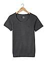 USPA Innerwear Ribbed Knit Thermal T-Shirt