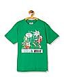 Day 2 Day Boys Archie Print Crew Neck T-Shirt
