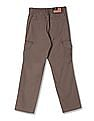 U.S. Polo Assn. Kids Boys Slim Fit Cargo Trousers