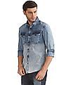 Ed Hardy Slim Fit Washed Shirt