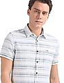 U.S. Polo Assn. Denim Co. Short Sleeve Horizontal Stripe Shirt