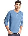 GAP French Rib Knit Henley