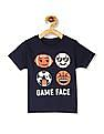 The Children's Place Blue Toddler Boy Crew Neck Printed T-Shirt