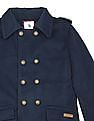 U.S. Polo Assn. Kids Boys Double Breasted Pea Coat