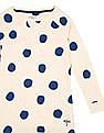 U.S. Polo Assn. Kids Girls Printed Sweatshirt Dress
